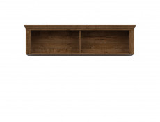 Classic Wall Mounted Living Room Cabinet Floating Shelf Storage Oak Classic - Patras (S405-SFW/153-DARL)