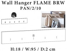 Flame - Coat Hooks (PAN/2/10)