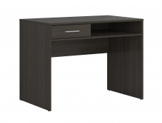 One Drawer Study Desk Modern Office Wenge, White or Sonoma Oak Finish- Nepo