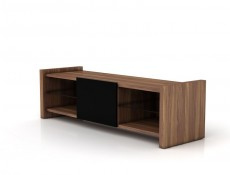 Venom -  TV Cabinet Black Gloss