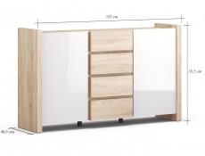 Venom Mix - Sideboard Dresser Cabinet (KOM2D4S)