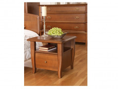 Vintage inspired King Size Bedroom Furniture Set Cherry Wood - Orland