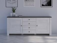Wide Sideboard Dresser Cabinet - Antwerpen (KOM2D4S)
