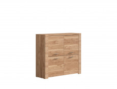 Small Sideboard Dresser Cabinet in Light Oak finish - Raflo