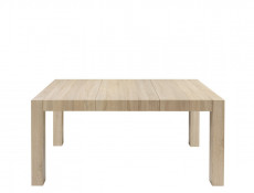 Square Compact Extendable Dining Table in Sonoma Oak Finish - Kaspian (D09-STO/110/100-DSO-KPL01)