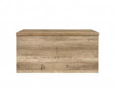 Urban Trunk Coffee Table Kid Toy Storage Chest Seat Oak 93cm - Malcolm