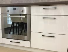 Free Standing White Gloss Kitchen Cabinet Oven Housing Unit 60cm - Roxi