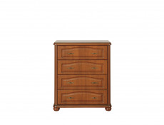 Wide Chest of Drawers Classic Style Traditional Bedroom Furniture Cherry Finish - Natalia