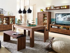 Modern Living Room Rectangular Coffee Table 130cm Oak finish - Gent (S225-LAW/4/13-DAST-KPL01)