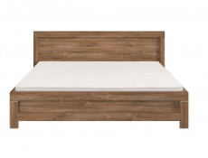 Modern Chunky Oak Finish Super King Size Bed Frame Contemporary Solid Bed - Gent