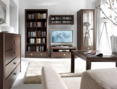 Bookcase Shelf Cabinet With Drawers - Koen (REG2S)