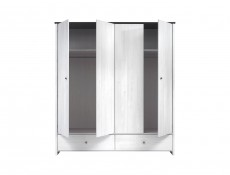 Four Door Wardrobe - Porto (SZF4D2S)