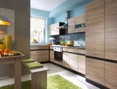 Kitchen Display Shelf 100cm Under Wall Units - Wenge - Junona