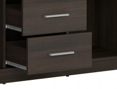 Sideboard Dresser Cabinet Modern Living Room Storage Wenge, White or Sonoma Oak Finish - Nepo