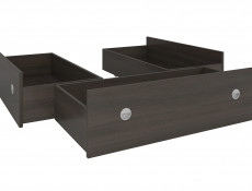 Underbed Storage Drawers for Double Bed in Wenge, White or Sonoma Oak Finish- Nepo