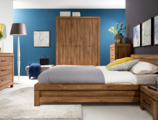 King Size Bed Frame - Gent (LOZ160)