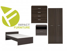 Children`s Bedroom Furniture Set Modern Wenge, White or Sonoma Oak Finish- Nepo