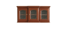 Wall Glass Dresser Display Cabinet Solid Wood - Bawaria