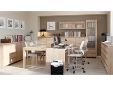 Modern Office Study Furniture Set 1 Sonoma Oak - Kaspian