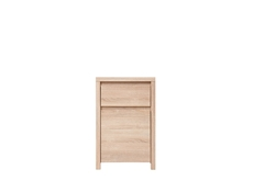 Modern Small Cabinet Storage Drawer Oak - Kaspian