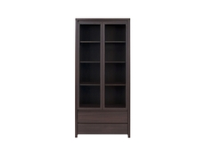 Glass Display Cabinet - Kaspian (REG2W2S)