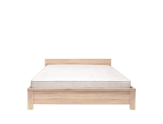 King Size Bed Frame Oak finish - Kaspian