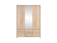 Kaspian -Three Door Wardrobe (SZF5D2S)