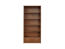 Bolden - Bookcase Shelf Cabinet With Drawer (REG1S/90)