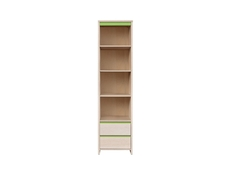 Numlock - Bookcase Shelf Cabinet With Drawers