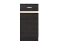 Modern Free Standing Kitchen Cabinet Cupboard Base Unit 40cm Left - Junona