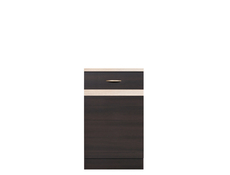 Modern Free Standing Kitchen Cabinet Cupboard Base Unit 50cm Left - Junona