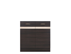 Modern Free Standing Kitchen Cabinet Cupboard Under Sink Unit 80cm - Junona