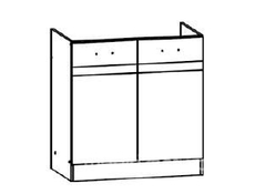 Sink Lower Cupboard 80cm - Junona Line