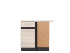 Lower Internal Kitchen Corner Cupboard 100cm Right - Junona Line (DNW/100/82_P)
