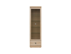 Tall Glass Display Cabinet - Oregon (REG1W1S)