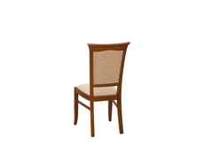 Traditional Dining Chair in Chestnut Solid Wood - Kent