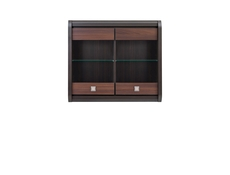 Loren - Wall-Mounted Glass-Fronted Display Cabinet