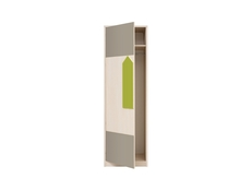 One Door Wardrobe - Arrow (SZF1D/20/6)