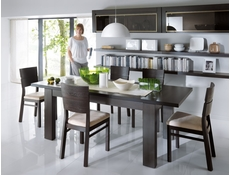 Contemporary Extending Dining Table and Chairs Furniture Set - August