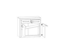 Cabinet - Bigi (KOM2D2S/88)