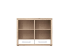 Bookcase Shelf Cabinet With Drawers - Bigi