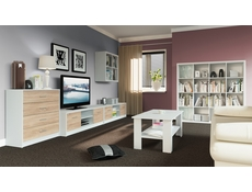 Bookcase Shelf Cabinet Cube Storage Display Living Room - Nepo