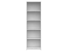 Bookcase Shelf Cabinet Modern Living Room 4 Shelves Wenge, White or Sonoma Oak Finish- Nepo
