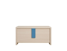 Trunk Storage Toy Chest Oak with Pink, Blue or Grey - Caps