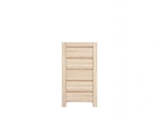 Tallboy Tall Chest of Drawers in Sonoma Oak - Agustyn (KOM5S)