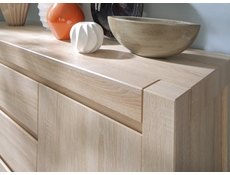 Tallboy Tall Chest of Drawers in Sonoma Oak - Agustyn