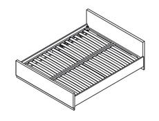 Danton - King Size Bed (LOZ/160)
