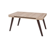 Modern Extendable Dining Table Oak San Remo - Azteca