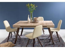Modern Extendable Dining Table Oak San Remo - Azteca (Ultra)