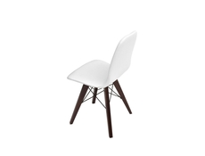 Charles Eames style Eiffel retro White Dining Chair - Azteca (Ultra)